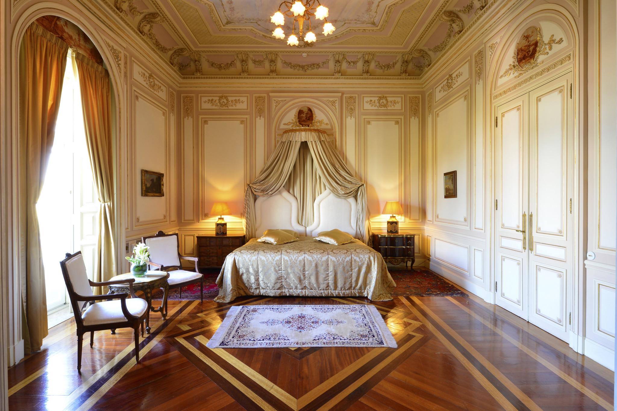 Una de las suites del Hotel Pestana Palace, en Lisboa.
