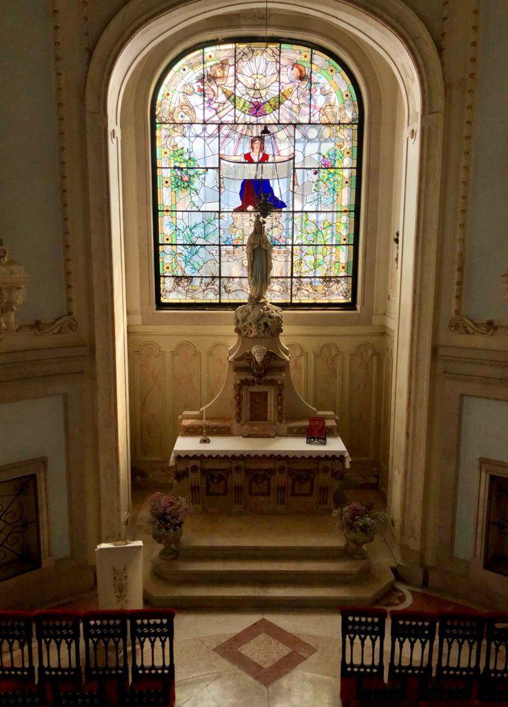 Capilla del Palacio de Valle Flor, en el Hotel Pestana Palace.