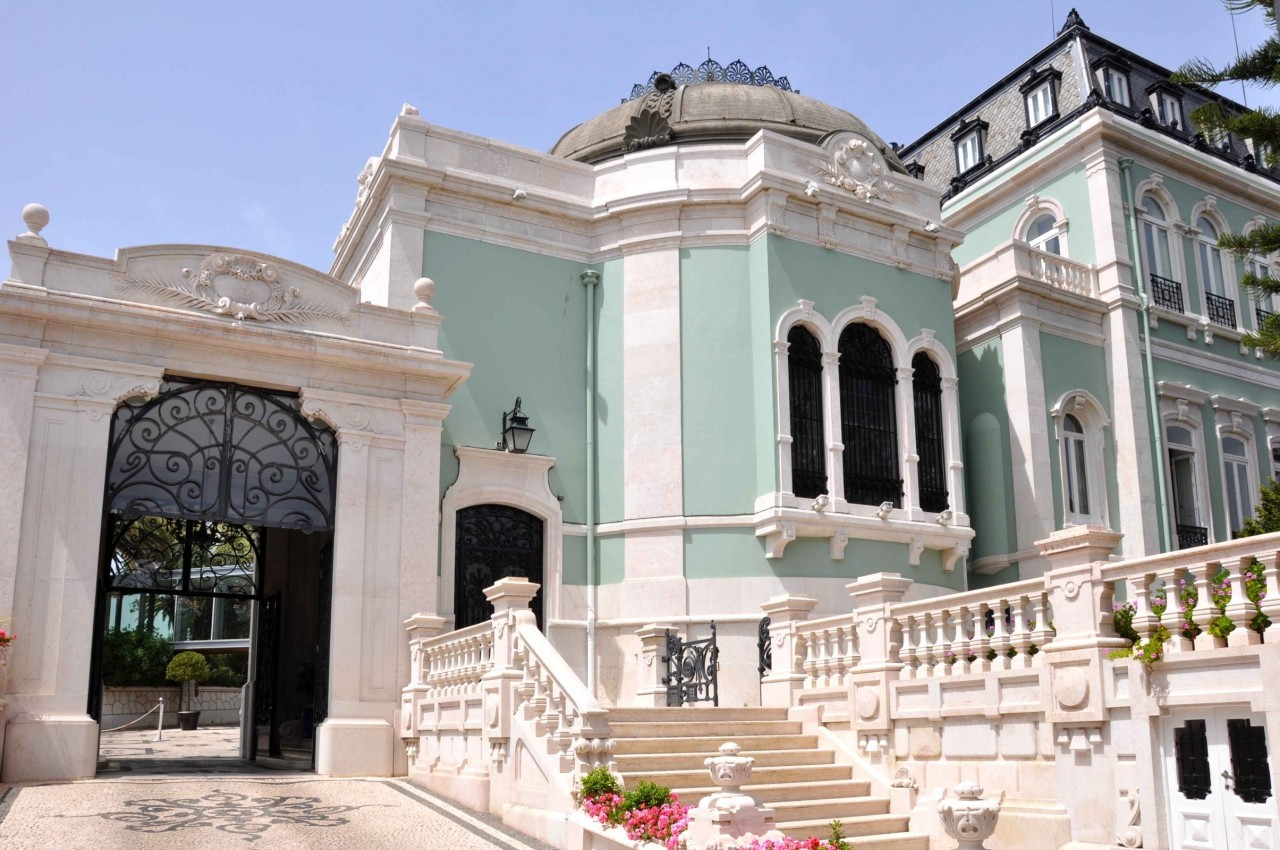 Entrada al Hotel Pestana Palace.