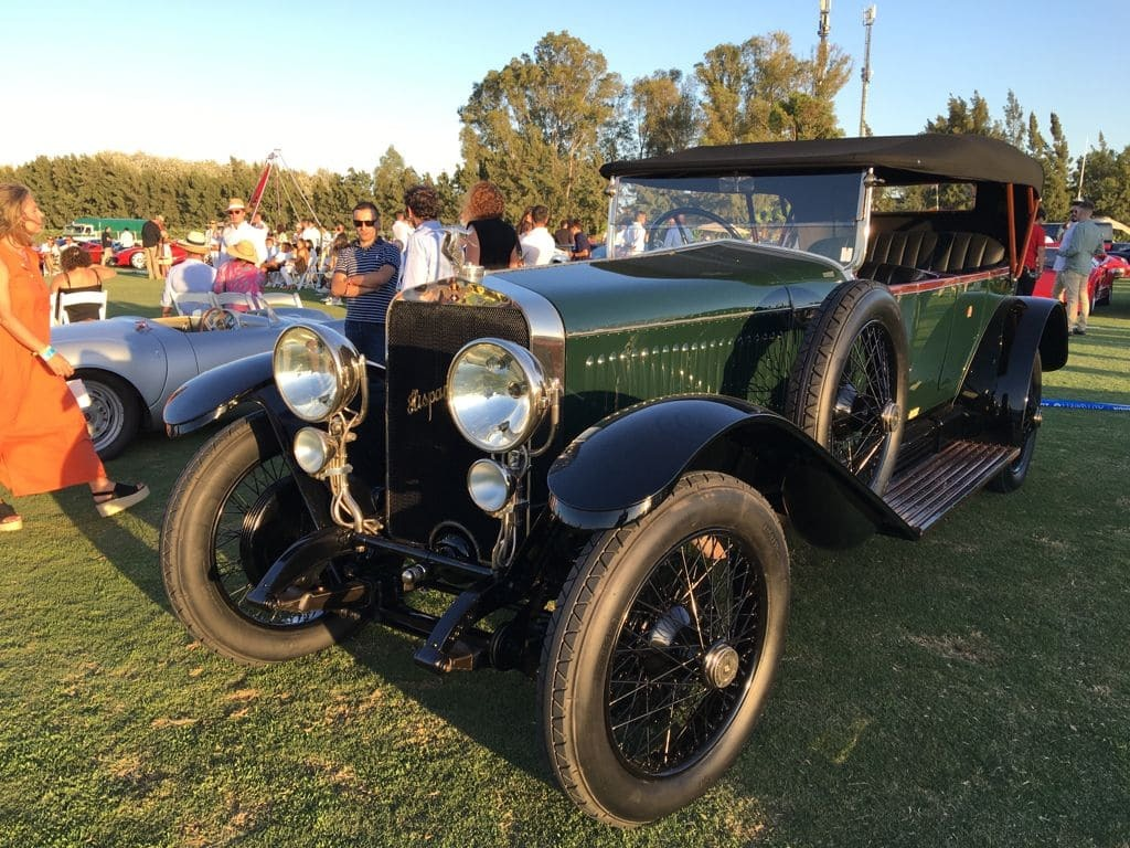 Un Hispano Suiza en la edicción Autobello