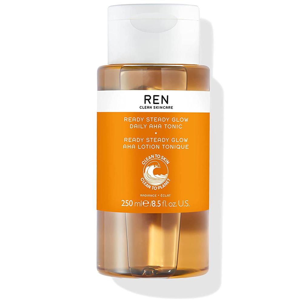 Tónico exfoliante Ready Steady Glow Daily AHA de REN.