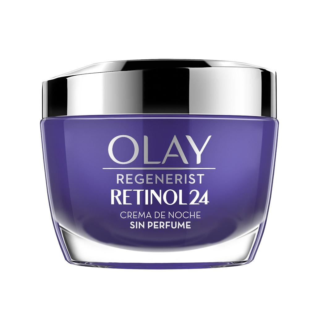 Crema hidratante de noche Regenerist Retinol 24 de Olay.