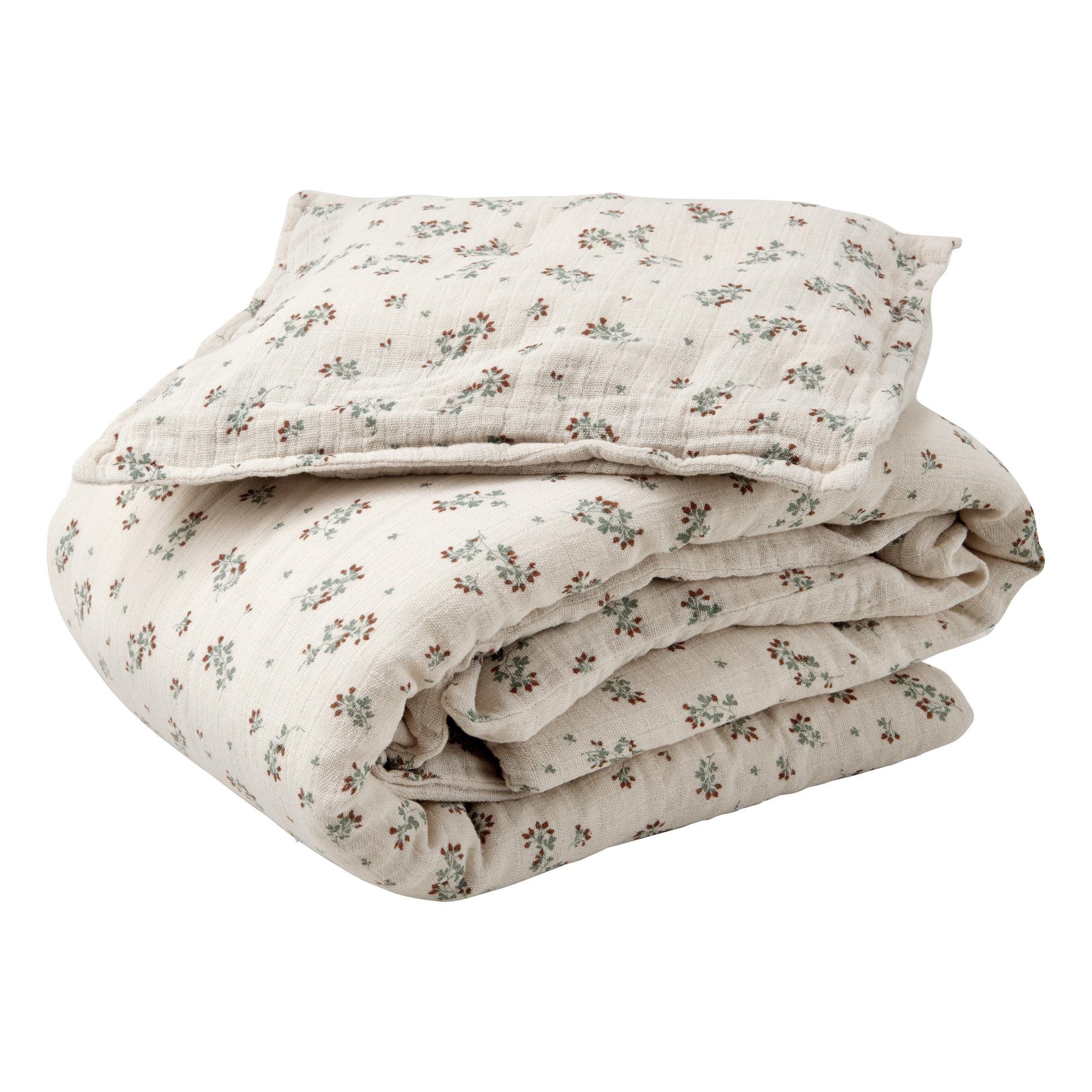 Ropa de cama de gasa de algodón de Garbo&friends. De venta en Smallable (86 euros).