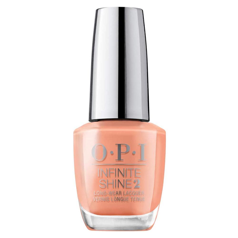 Esmalte de uñas en tono salmón Coral -Ing Your Spirit Animal de OPI.