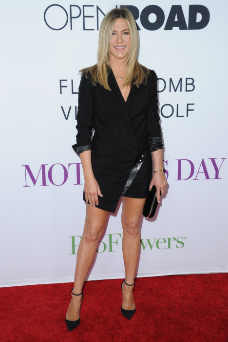 """El vestido blazer es uno de los favoritos de la actriz de """"Friends"""" y otras celebrities"""