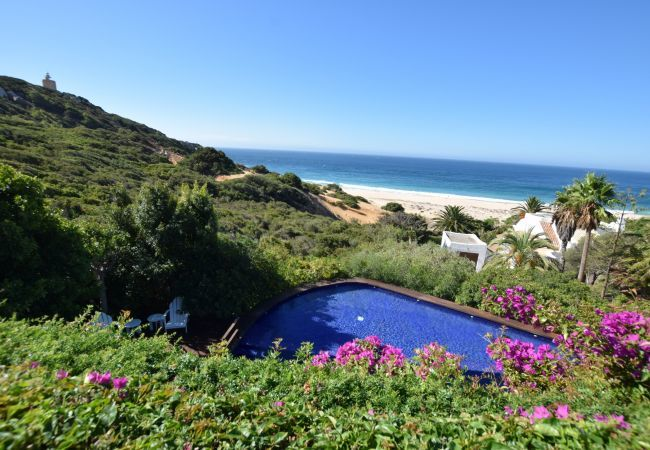 Villa La Recoleta, en Zahara de los Atunes, la casa elegida por Sara Carbonero para sus vacaciones.