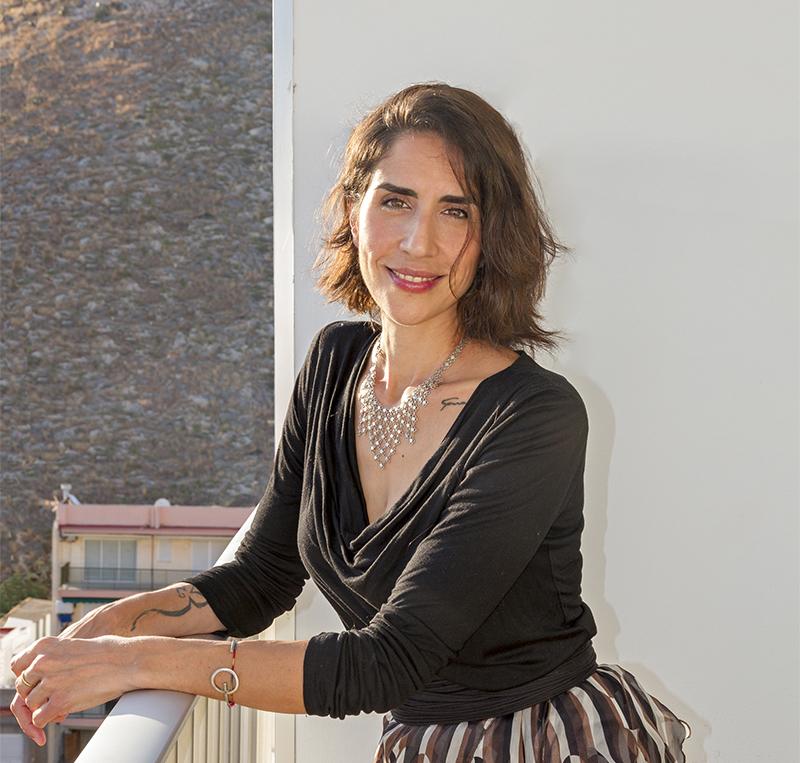 """Carmen Córdoba, la directora del corto de animación """"Roberto""""."""
