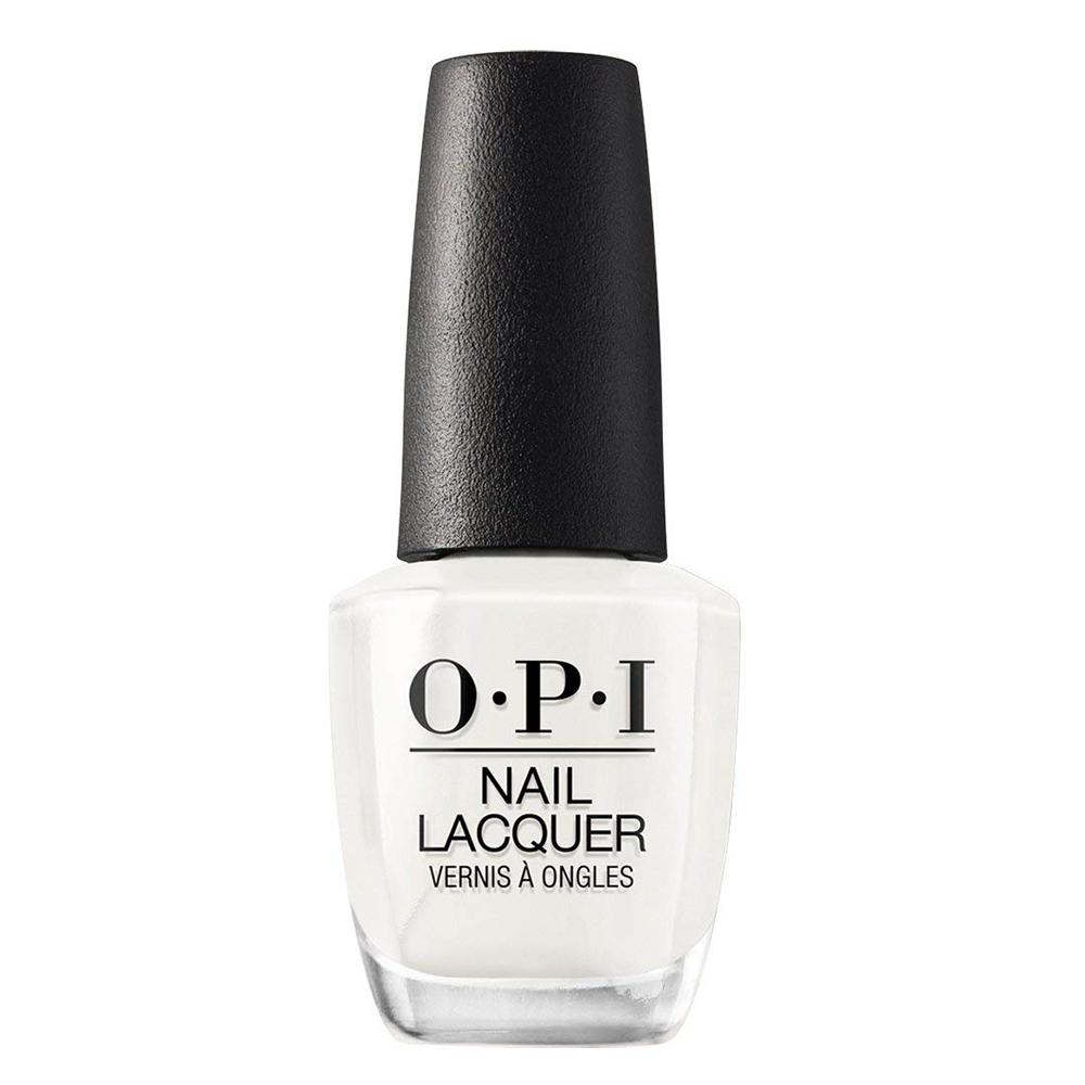 Laca de uñas blanca Funny-Bunny de OPI.