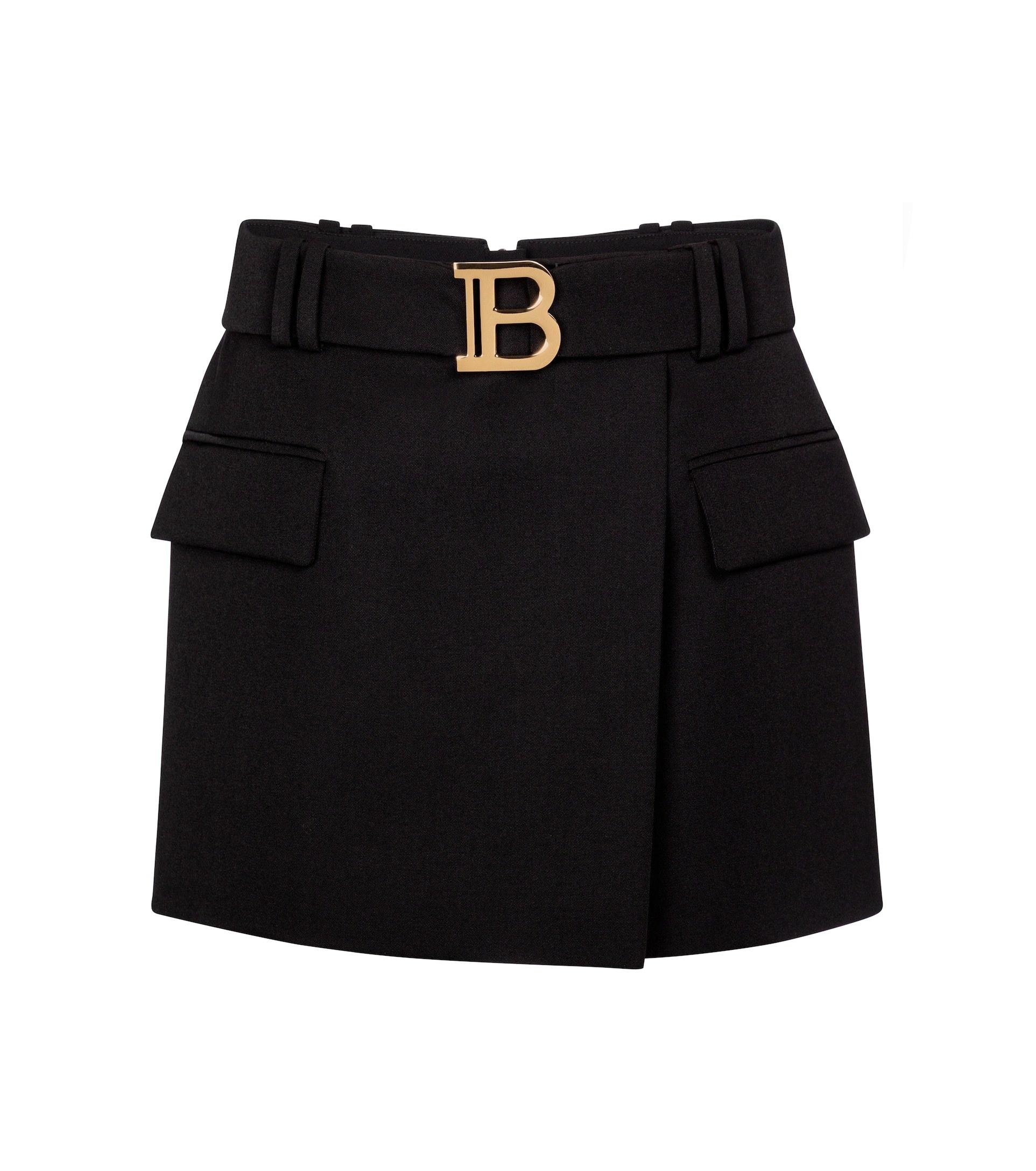 Minifalda de Balmain.