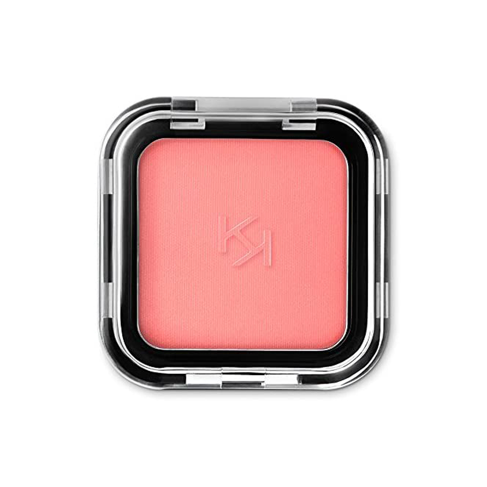 Colorete en polvo Peach de Kiko Milano.