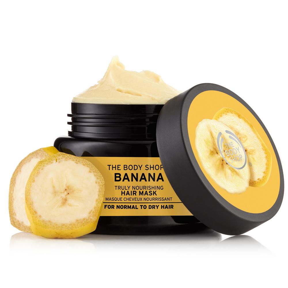 Mascarilla de pelo Banana de The Body Shop.