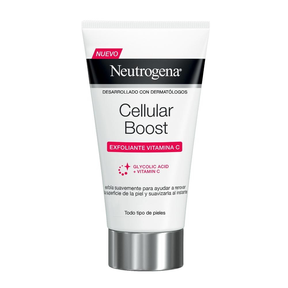 Exfoliante facial con vitamina C Cellular Boost de Neutrogena.