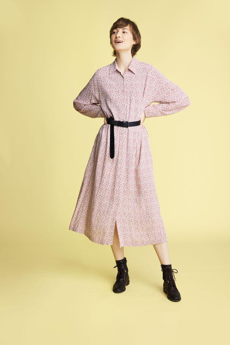 Vestido de Inès de la Fressange para Uniqlo.