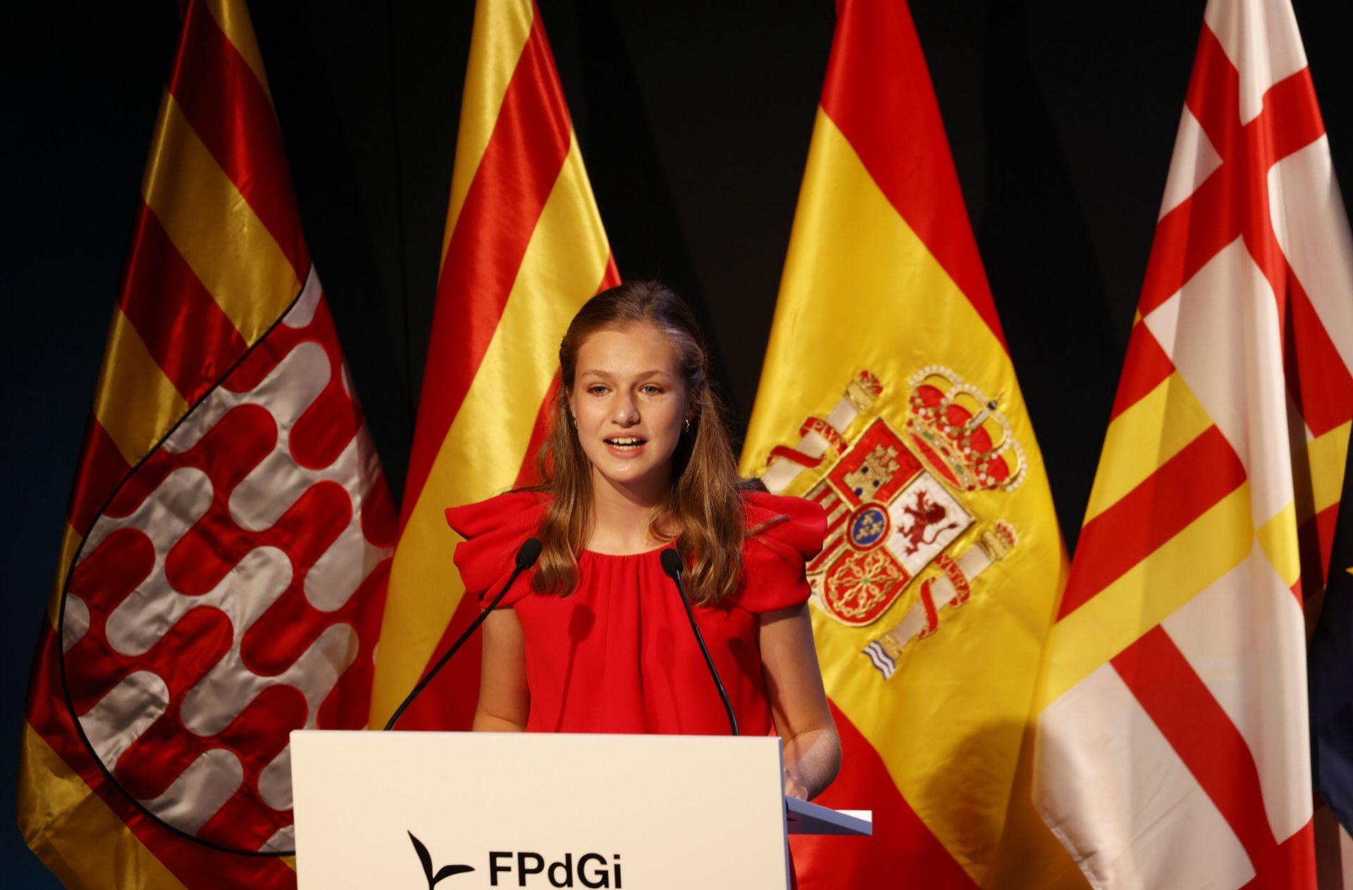 Leonor en los Premios Princesa de Girona