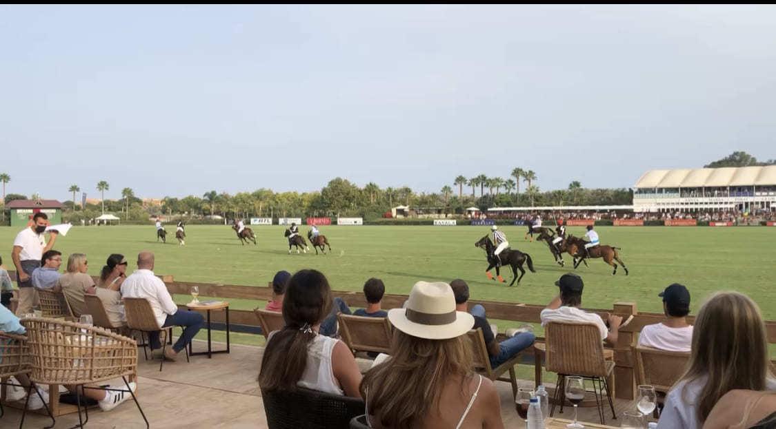El caballo es el protagonista del polo en Sotogrande