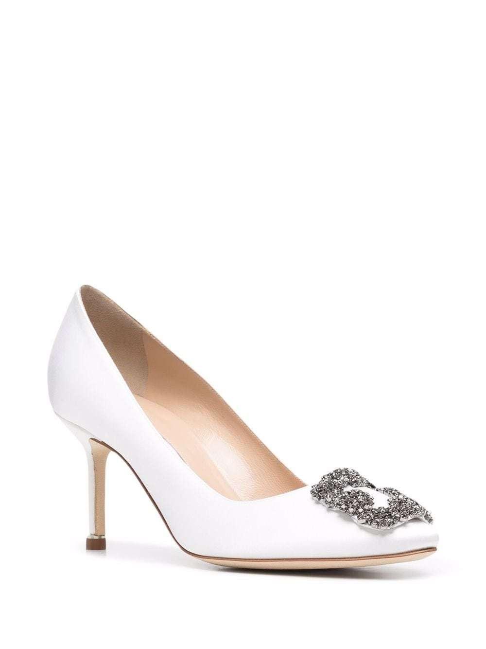 Zapatos Hangisi con tacón de 70mm de Manolo Blahnik