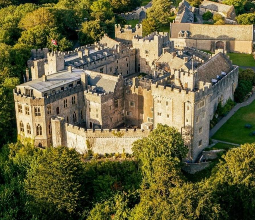 El castillo de St Donat's