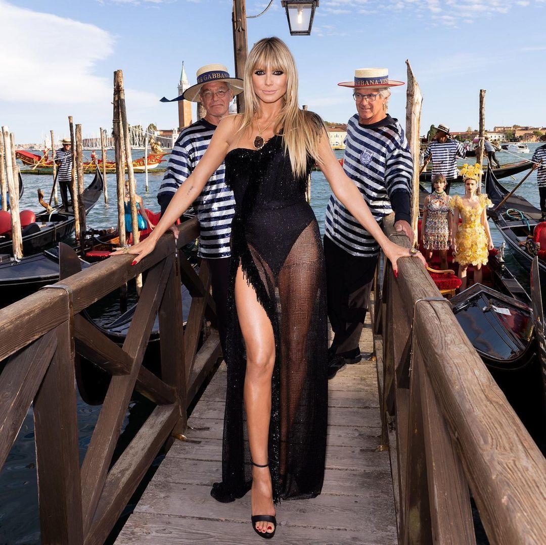 La modelo Heidi Klum.