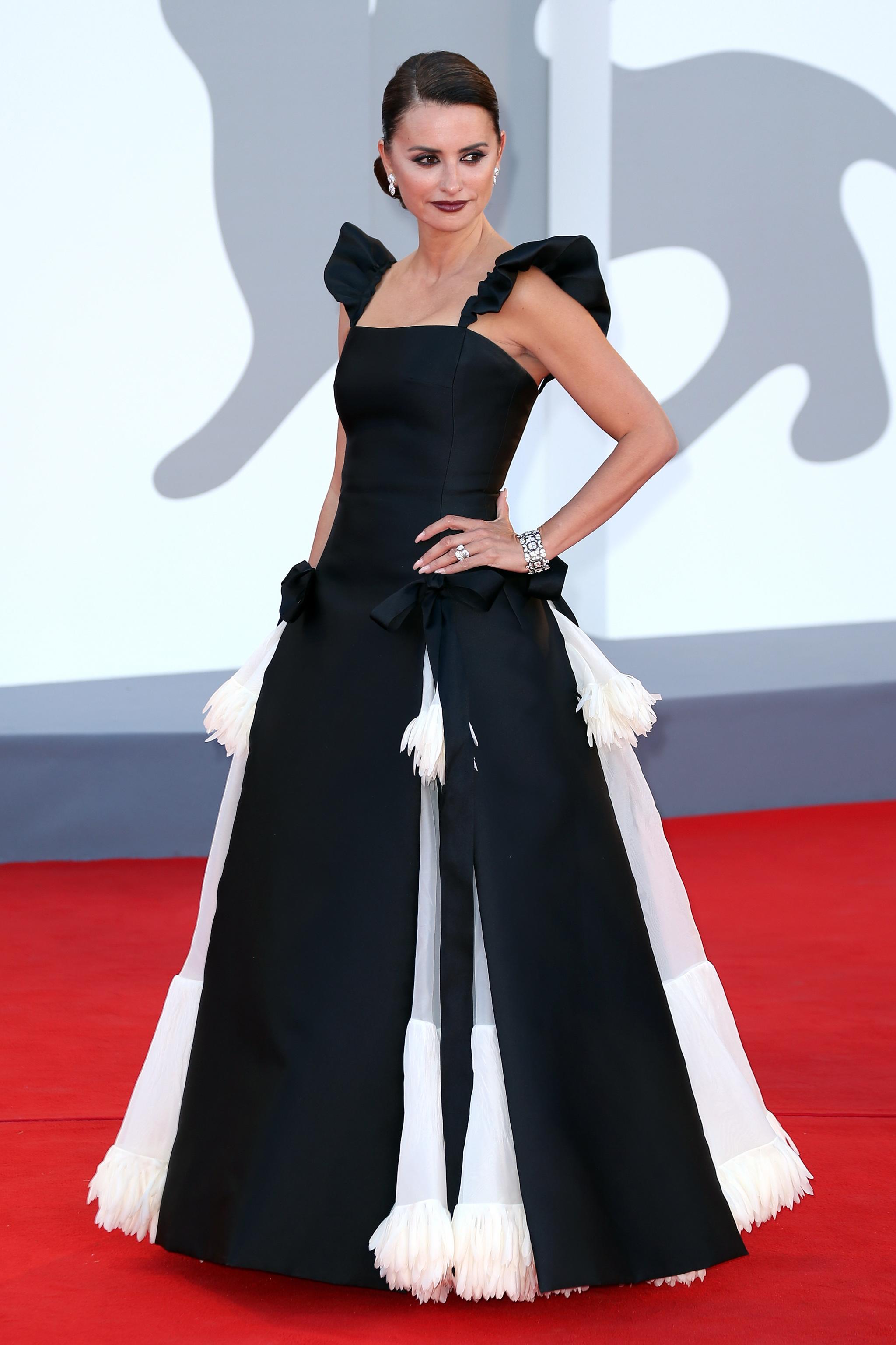 Penélope Cruz con vestido de Alta Costura de Chanel.