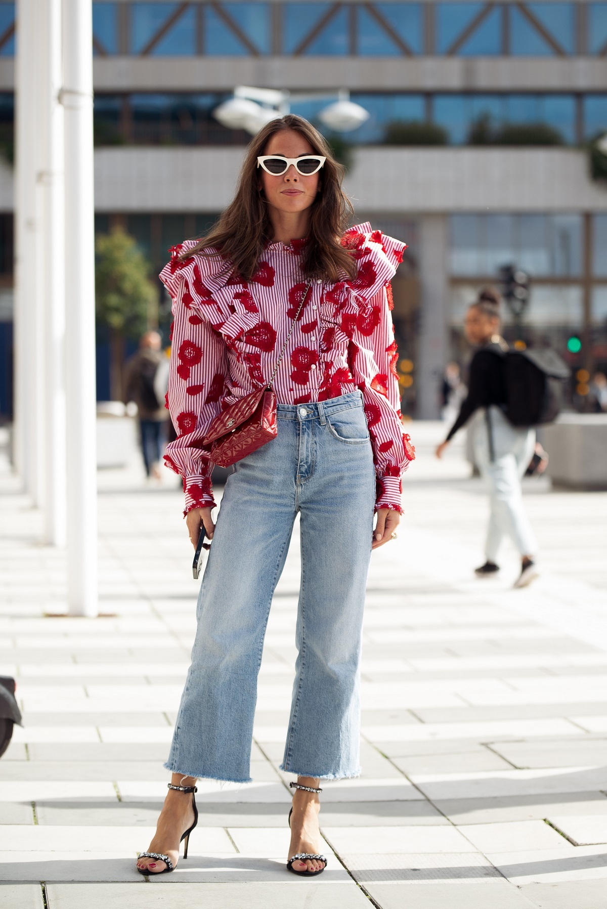 Cómo llevar los jeans en otoño.