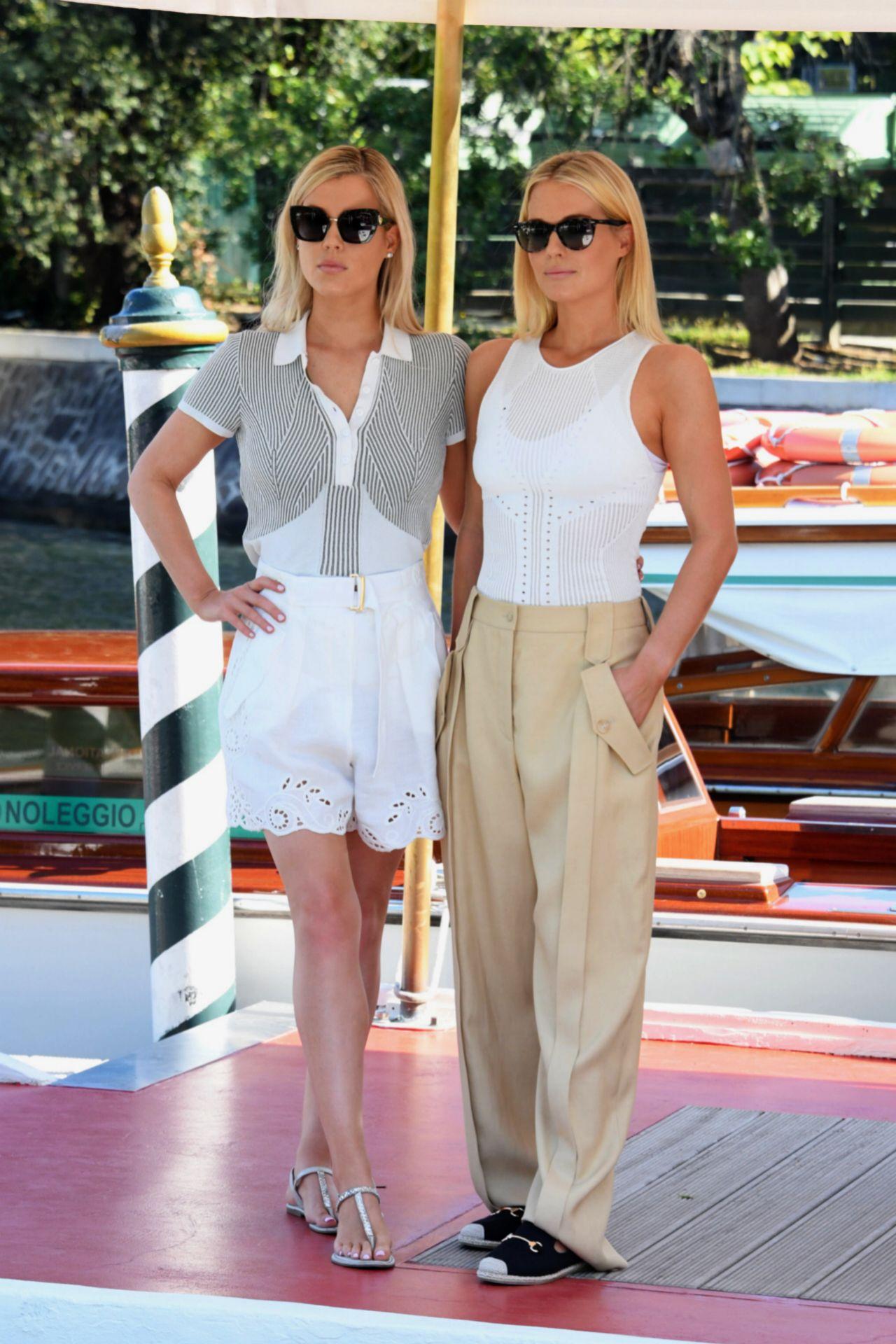 Amelia y Eliza llegan al festival de Venecia