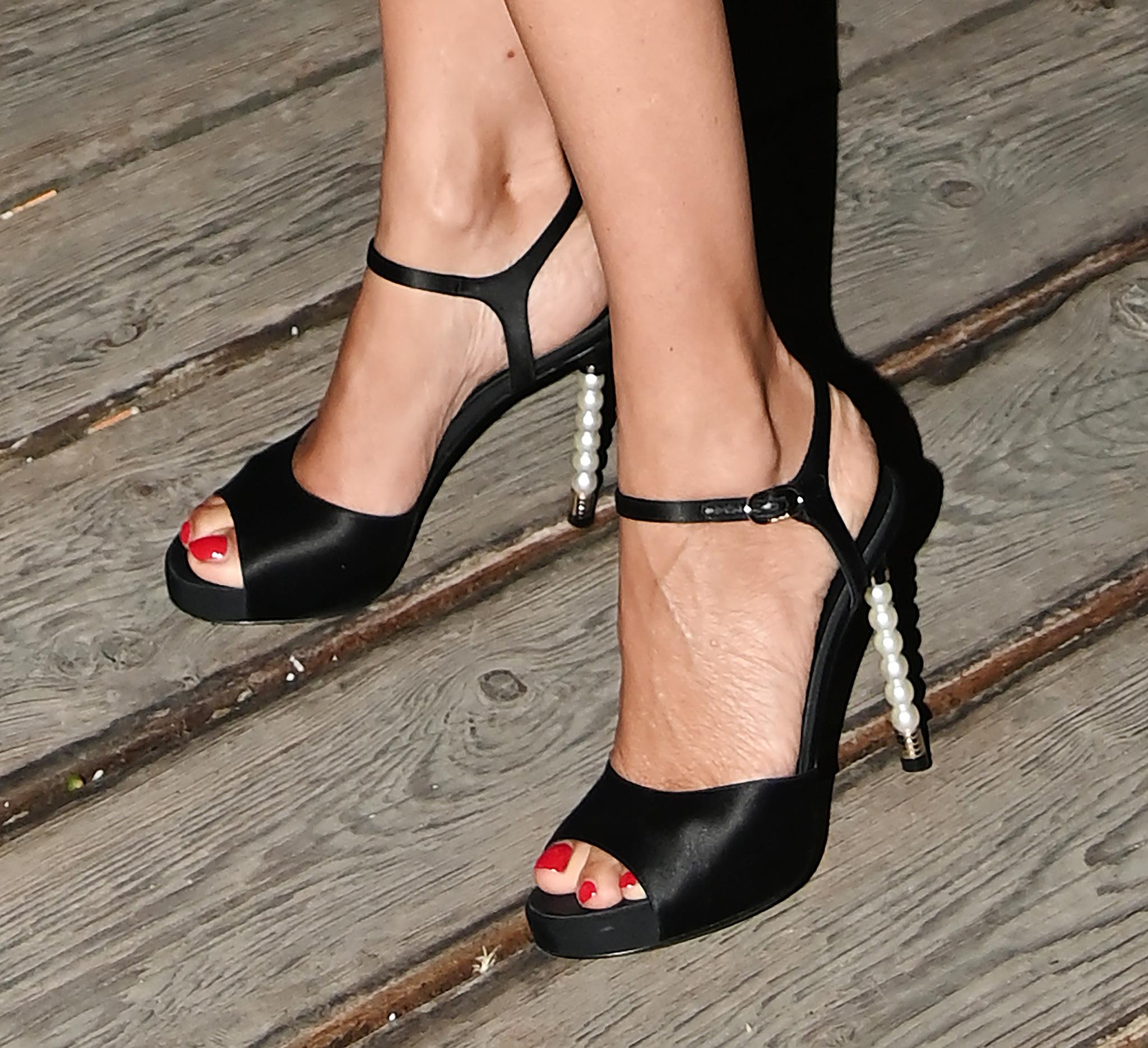 Las sandalias de perlas de Penélope.