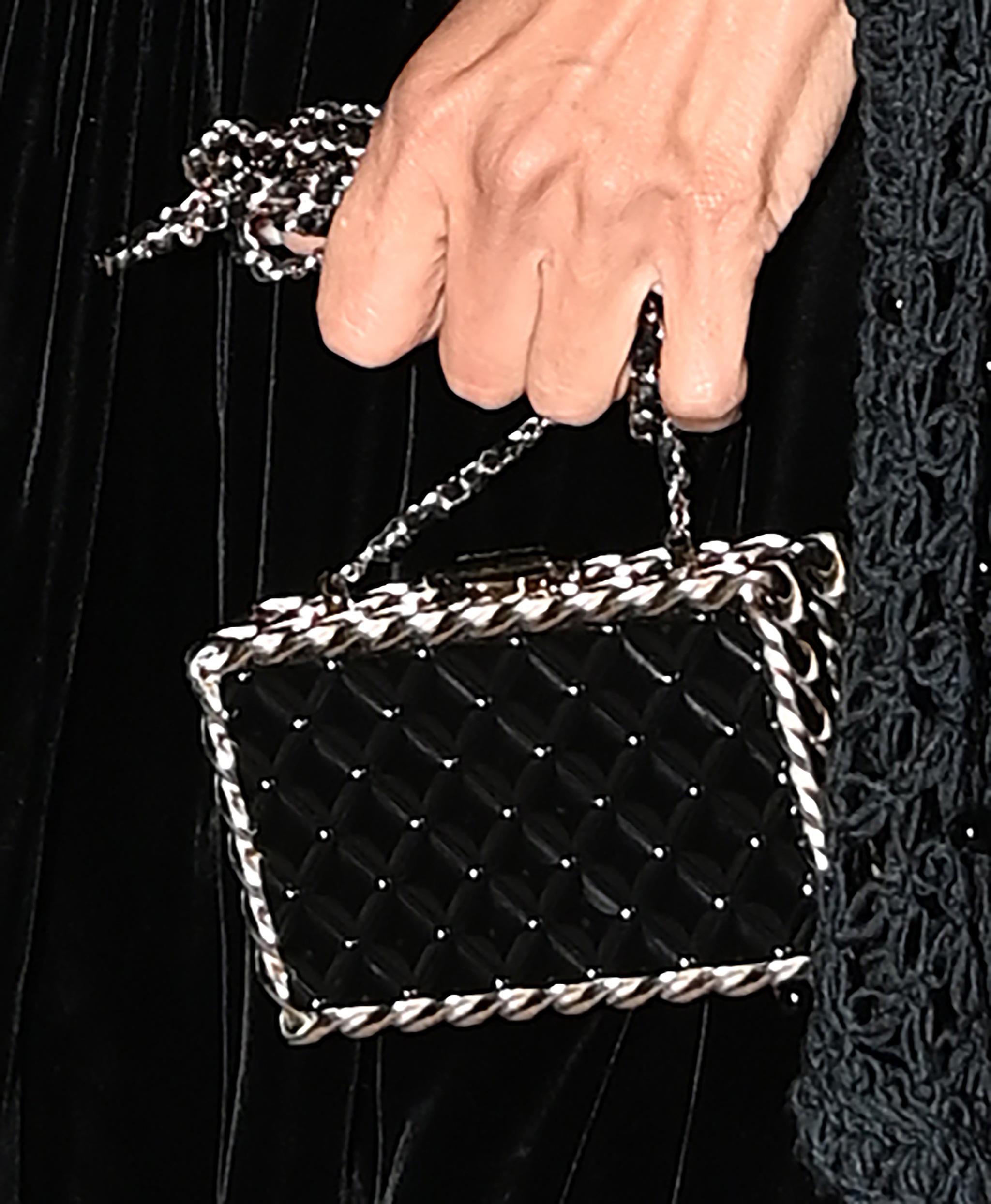 Detalle del bolso de Penélope.