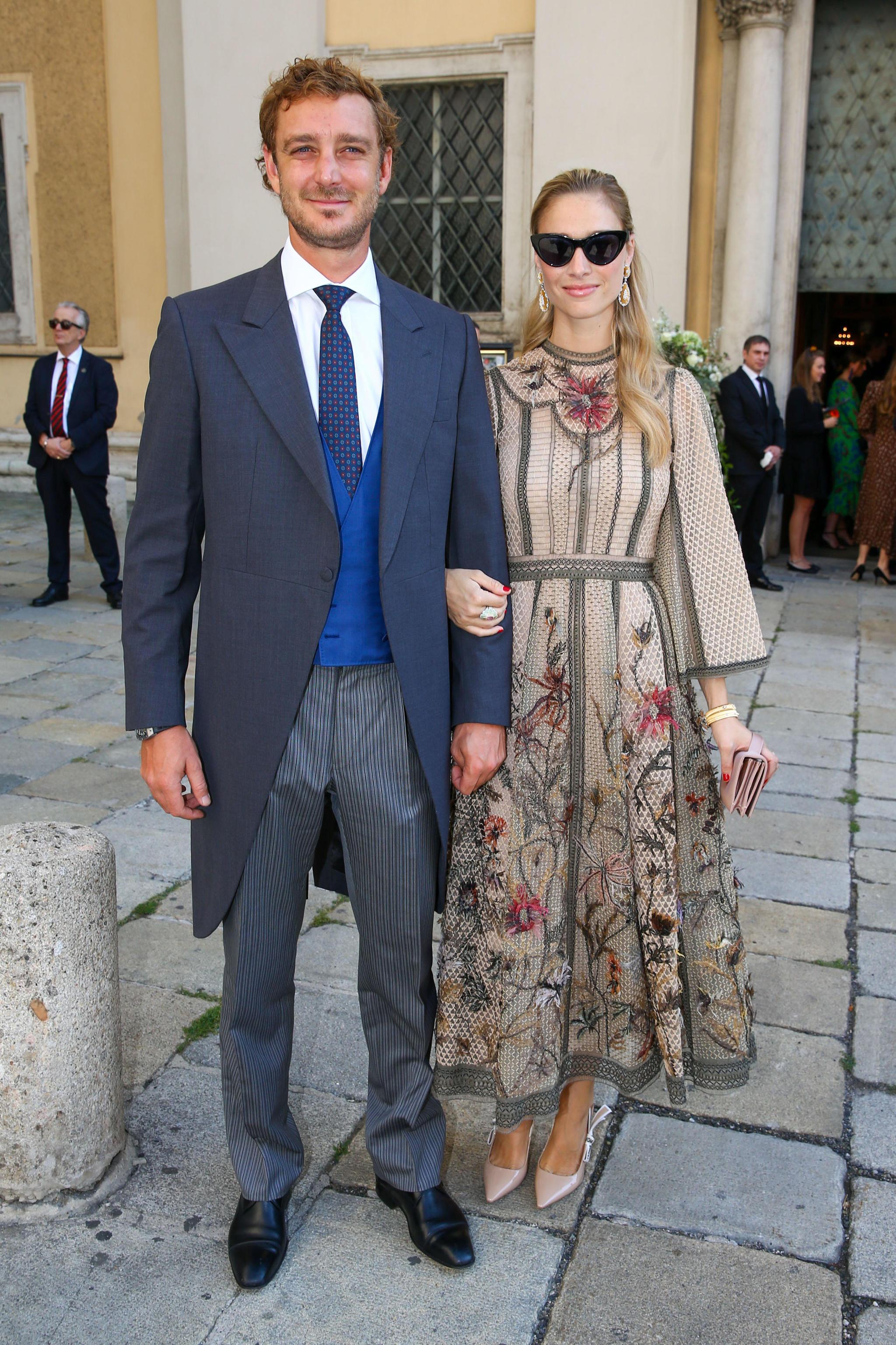 Beatrice Borromeo y Pierre Casiraghi en Viena.
