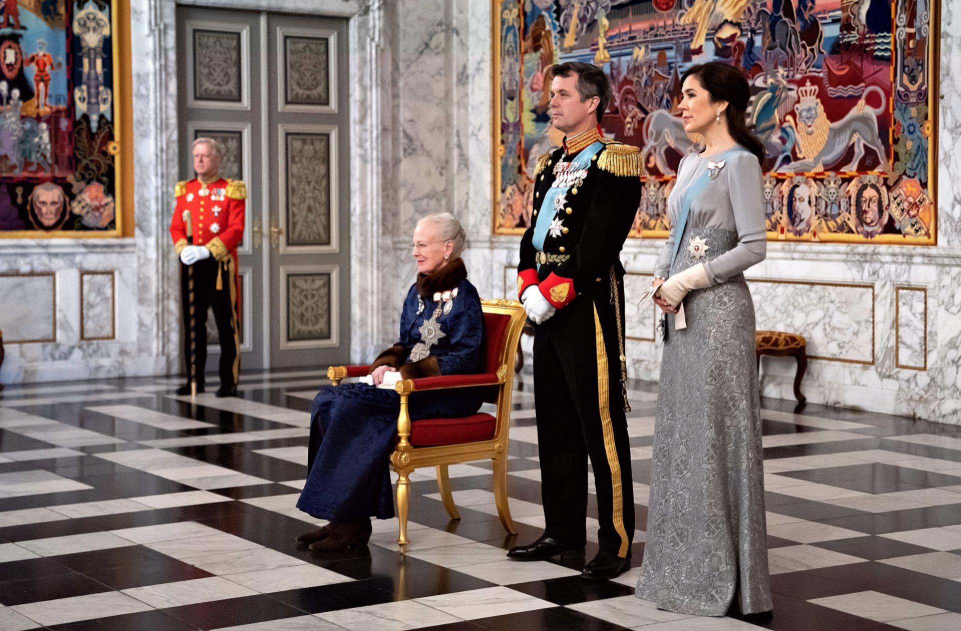 La familia real de Dinamarca