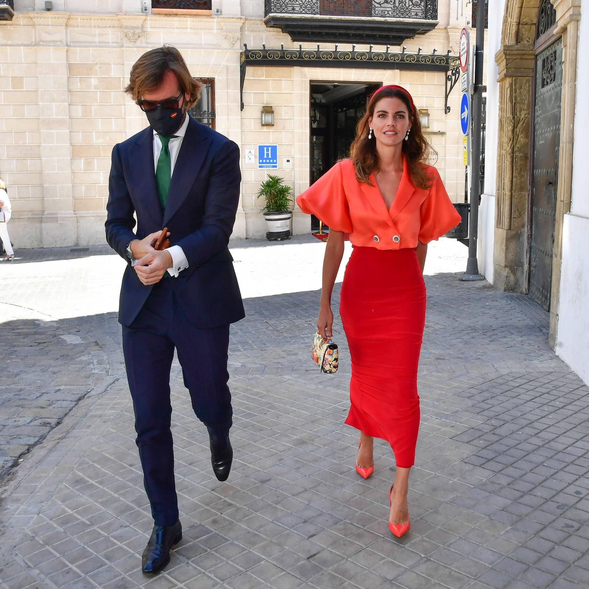 Amaia Salamanca y Rosauro Varo de boda en Jerez.