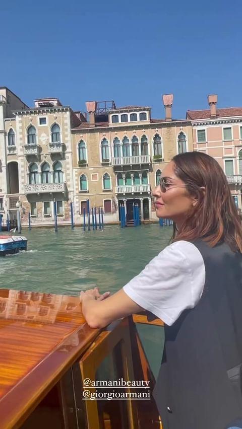 Eugenia Silva en Venecia