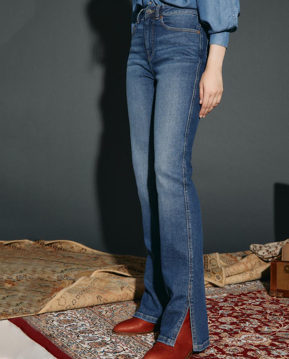 Pantalones vaqueros regular fit SlowLove (59,99 euros)