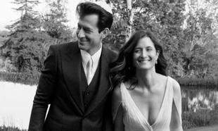 Este es el segundo matrimonio de los dos: Mark Ronson y Grace Gummer.