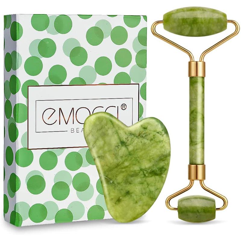 Rodillo de jade masajeador de Emocci.