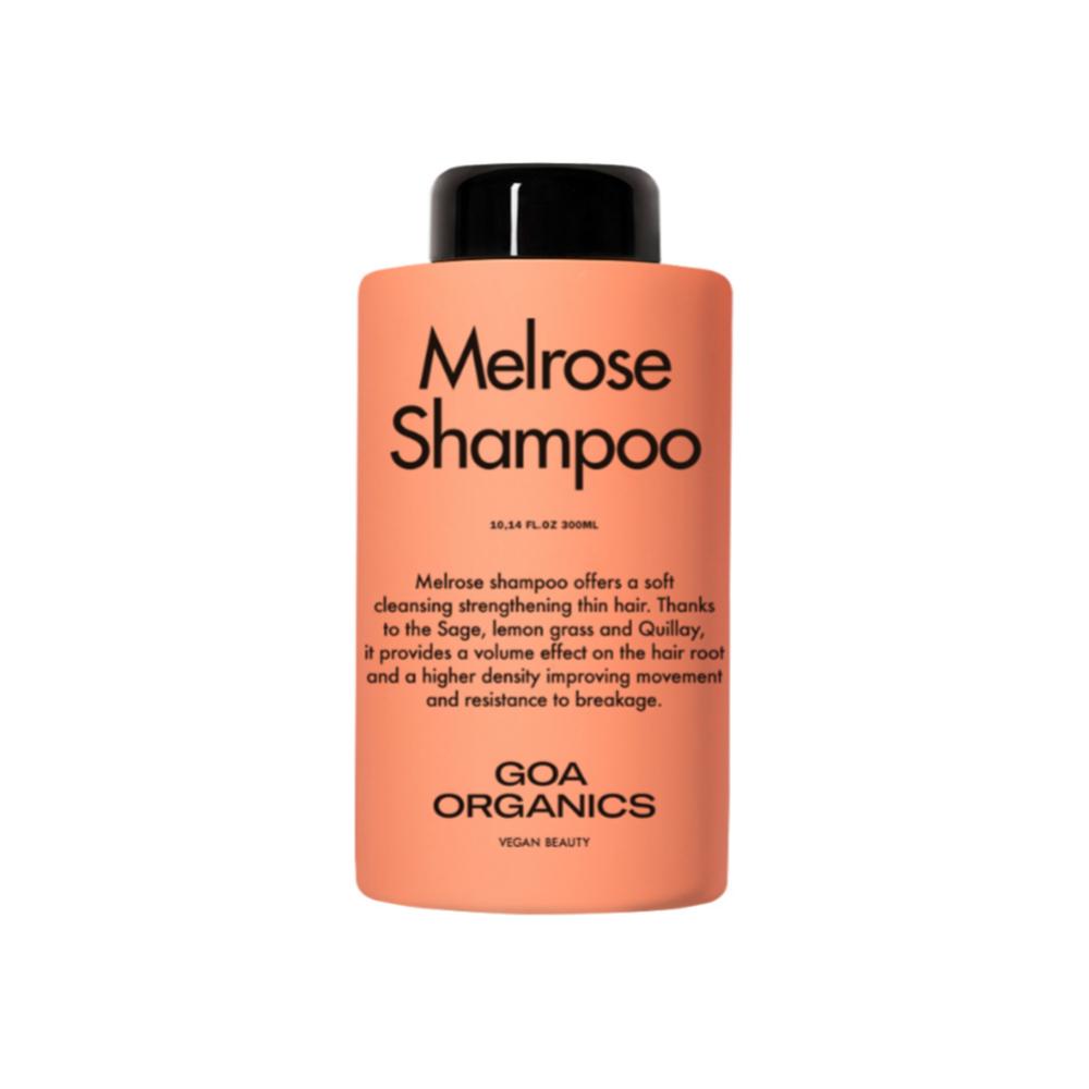 Melrose Shampoo, Goa Organics (27,95 euros).