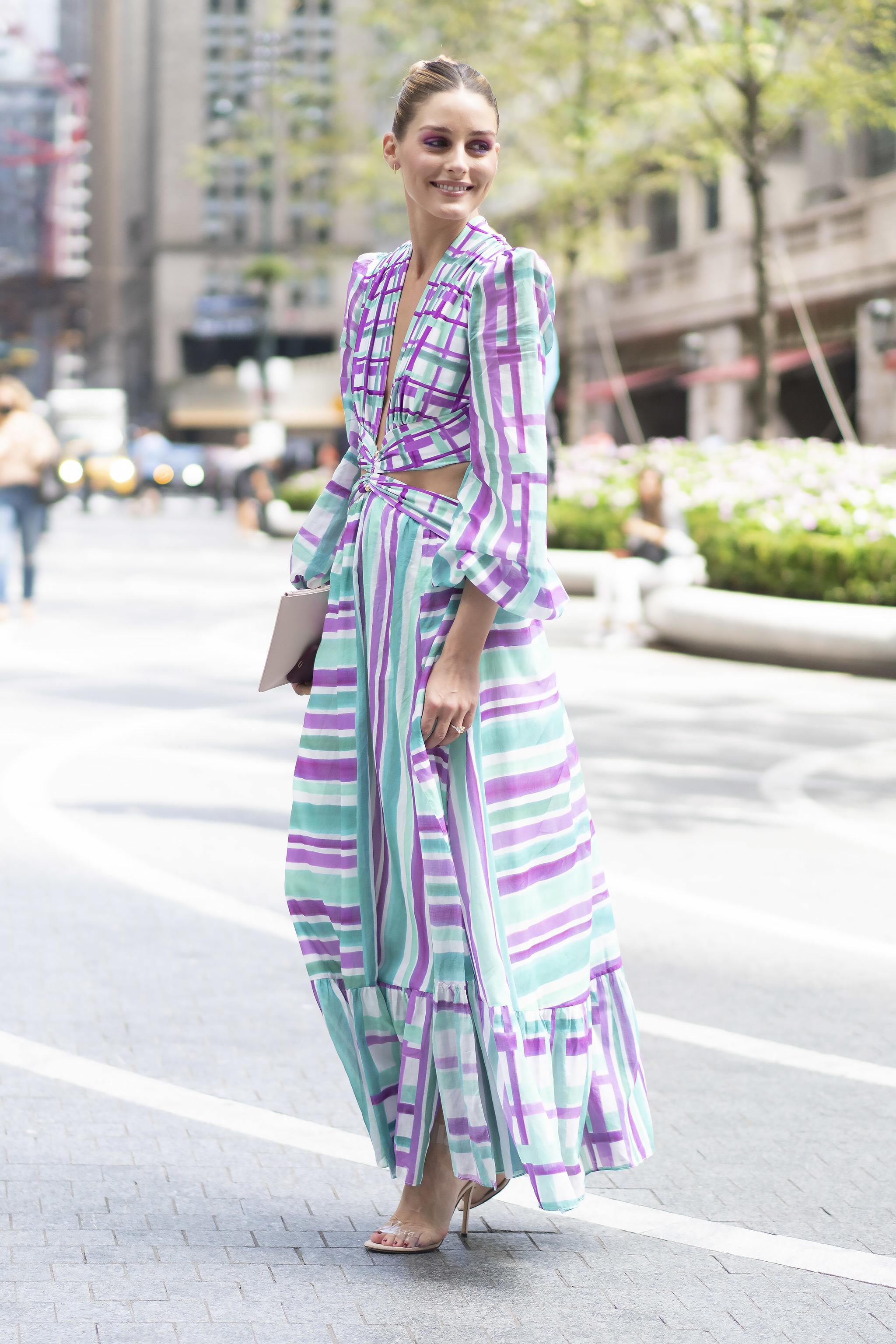 Olivia Palermo en la Fashion Week de Nueva York