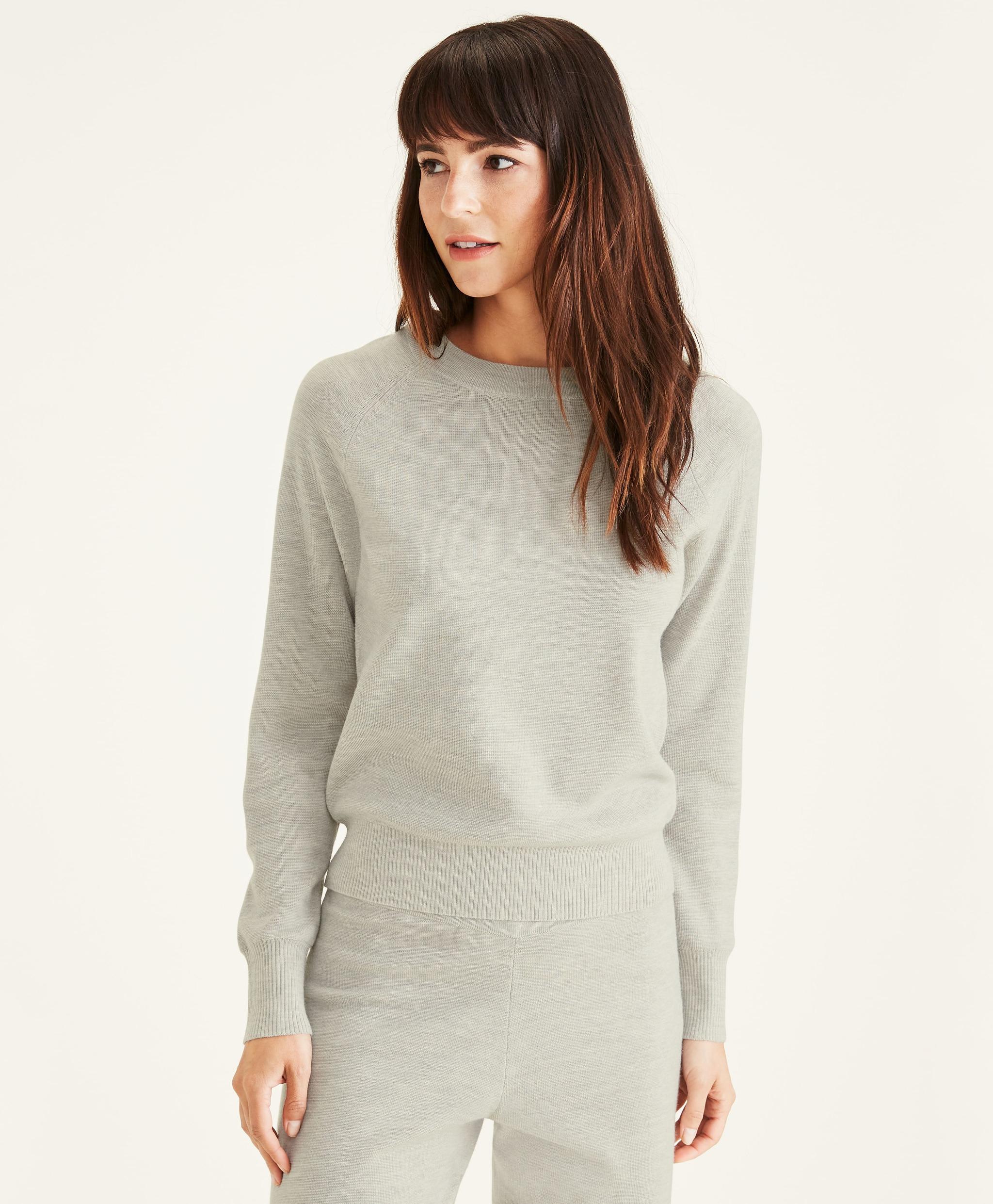 La sudadera Crewneck Sweater (80 euros)