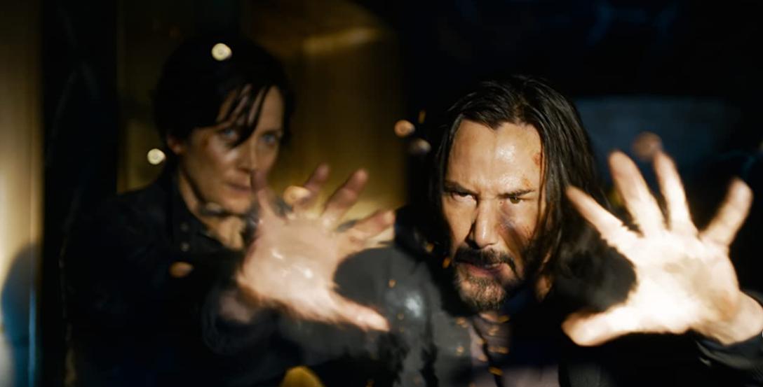 Keanu Reeves en Matrix Resurrection
