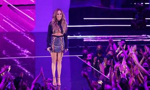 Jennifer Lopez en la gala de los MTV