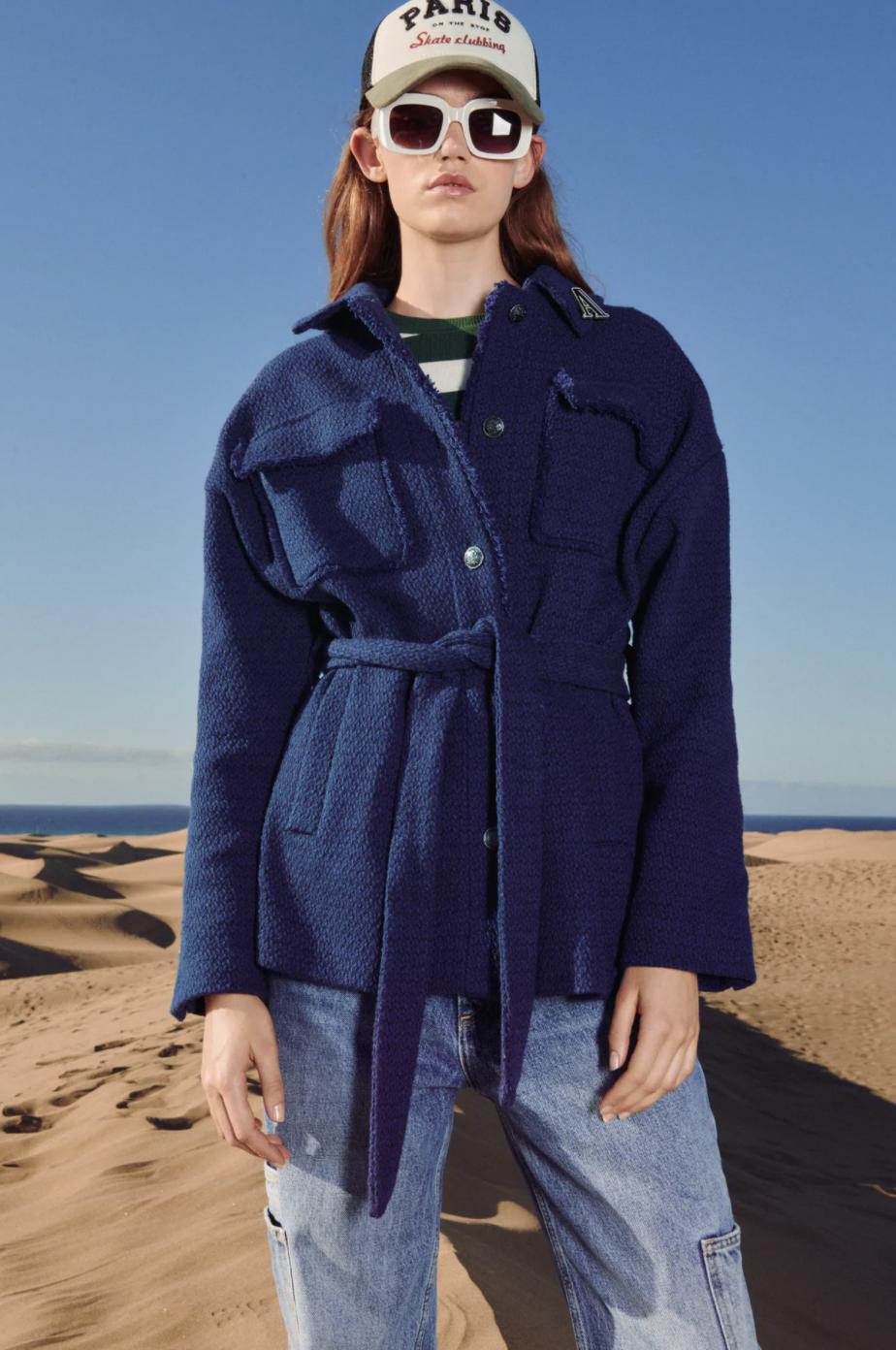 En azul Klein, uno de los tonos triunfadores del otoño
