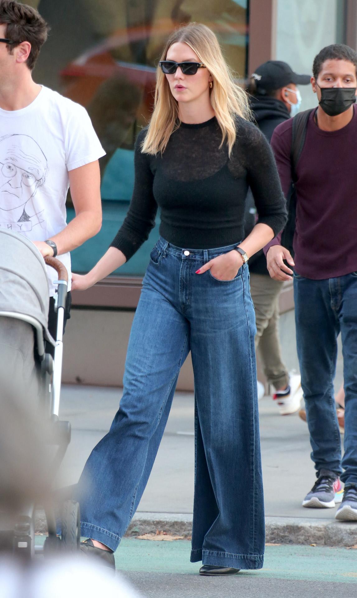 El nuevo look de Karlie Kloss en Nueva York
