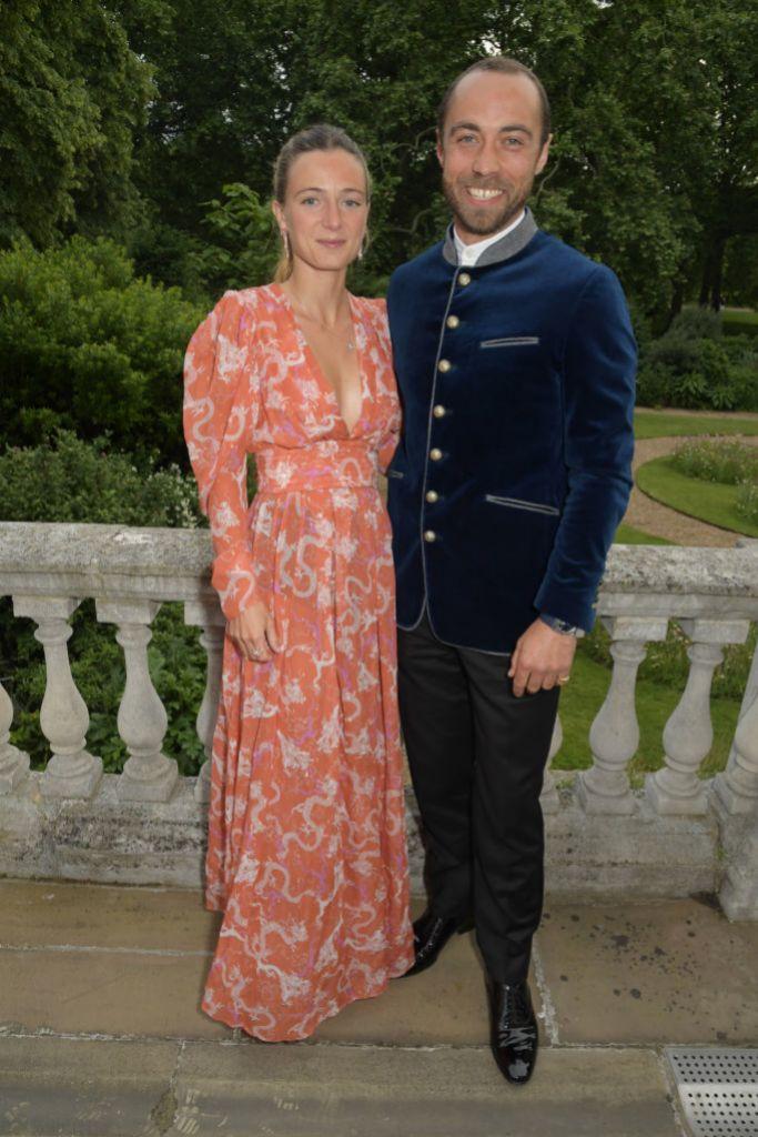 James y Alizée en una reciente fiesta en Londres