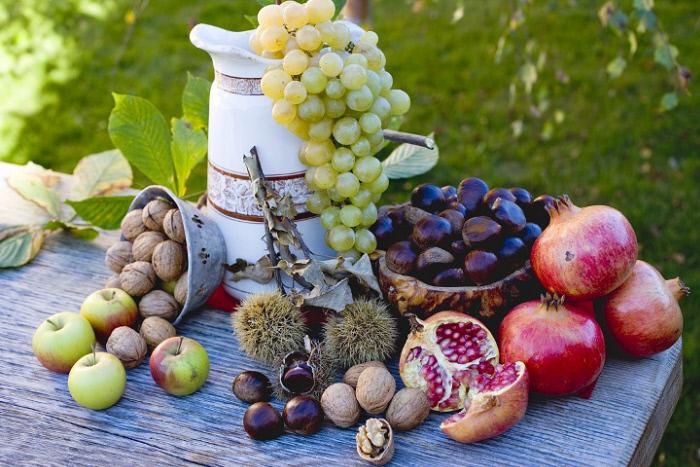 Frutas de otoño que estábamos esperando.