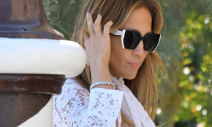 Jennifer López con corte de pelo a capas en el Festival de Cine de...