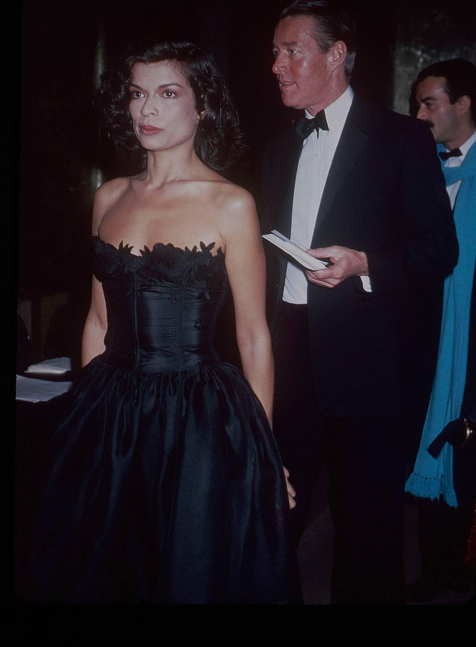 Bianca Jagger en la Gala MET de 1981