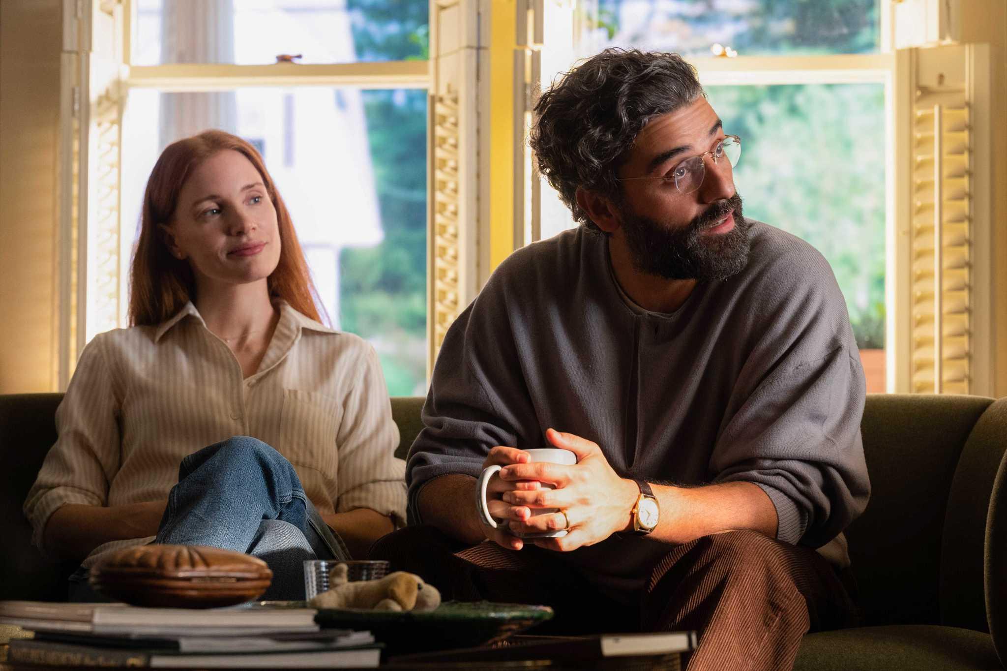 Jessica Chastain y Oscar Isaac en Secretos de un matrimonio