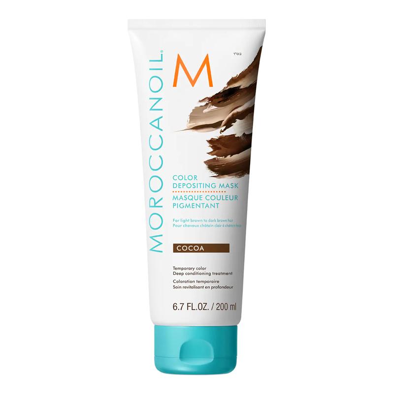 Mascarilla pigmentadora de color Tono Cacao de Moroccanoil