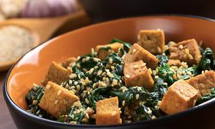 Las recetas veganas pueden ser deliciosas y no solo llevan tofu.