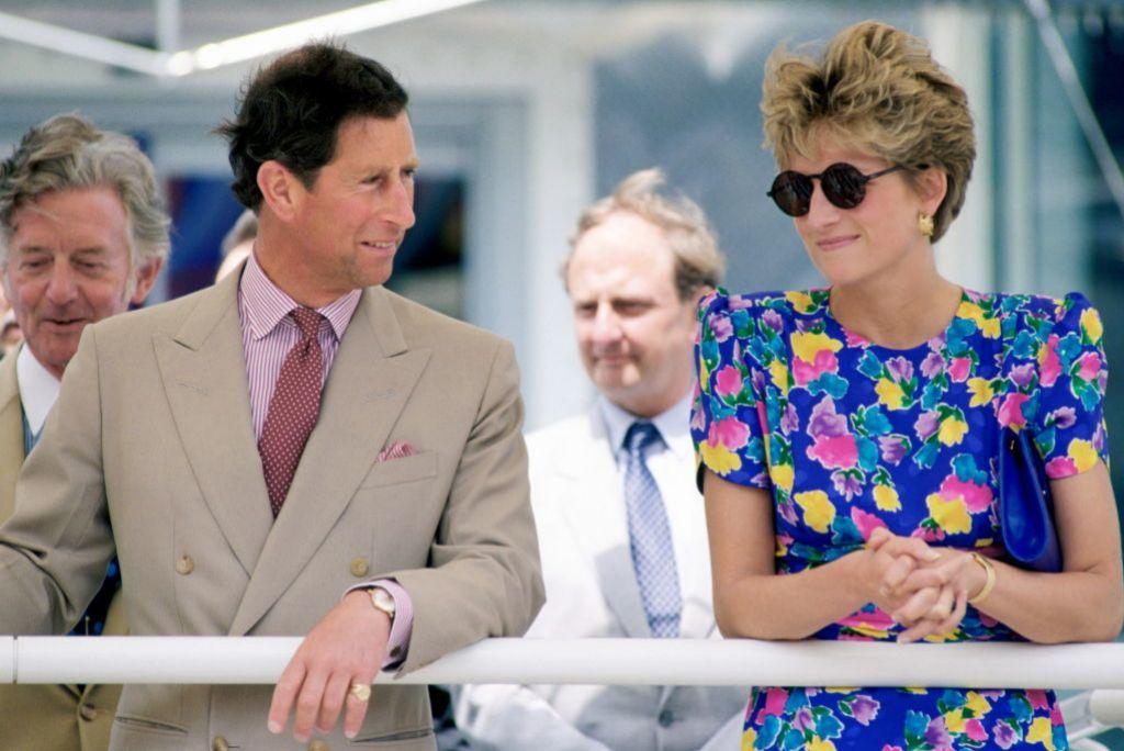 Diana y el príncipe Carlos en la Expo de Sevilla