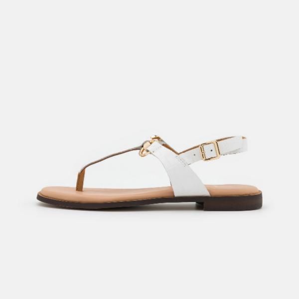 Copia el look con estas sandalias de dedo Limba de la marca Dune London, de venta en Zalando (49,95 euros, precio rebajado)